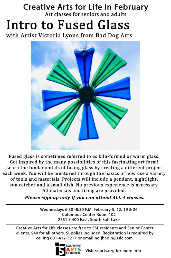 Fused Glass Art Class